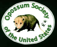 Opossum Society Window Decal.