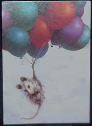 Opossum Greeting Cards