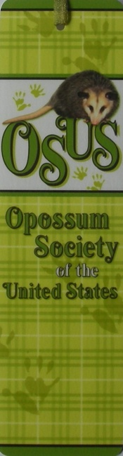 Opossum Bookmark