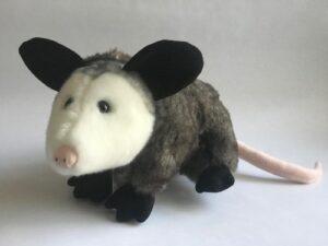 large plush opossum