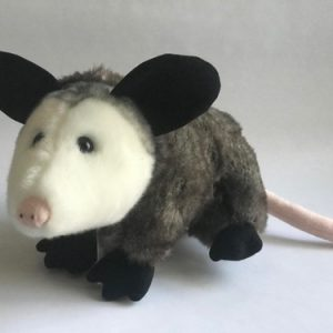 large plush opossum