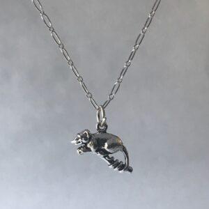 opossum pendant